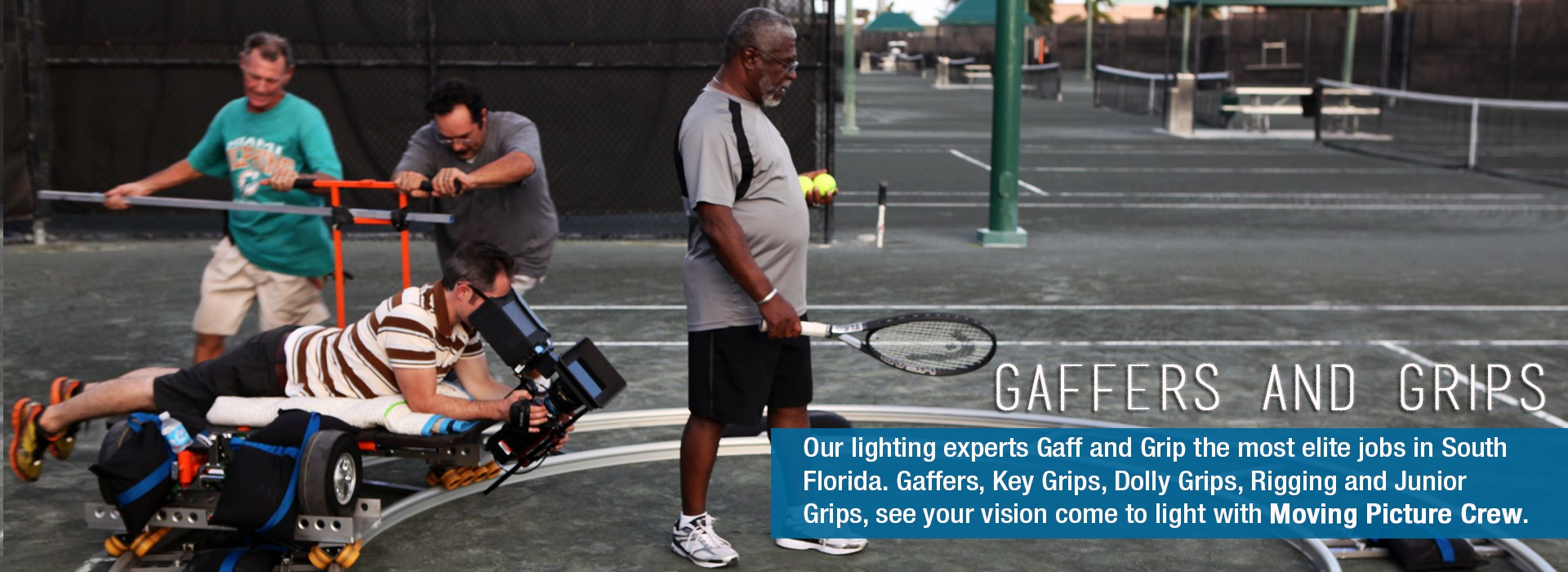 Miami Gaffer and Lighting Experts
