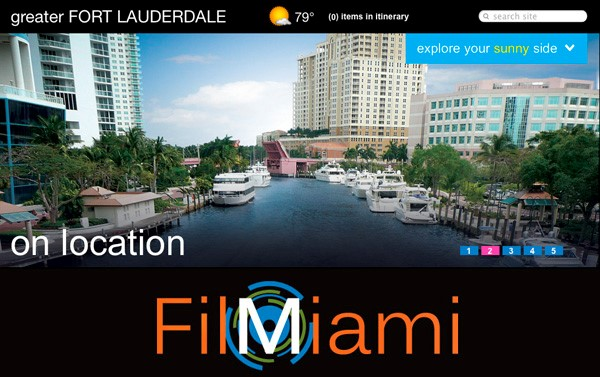 Permits for Filming in Miami